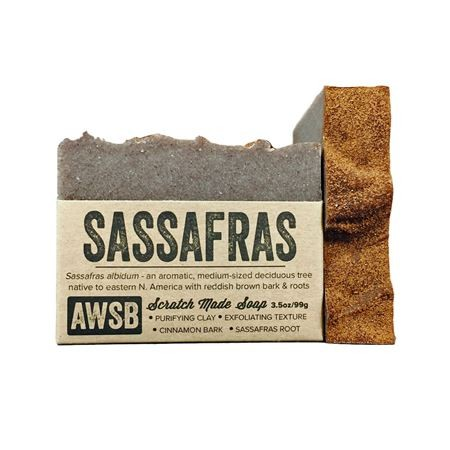 A wild soap bar organic handmade soap - sassafras