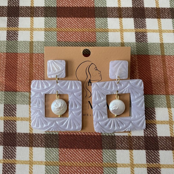 ALMA Earrings - Adeline Pearl