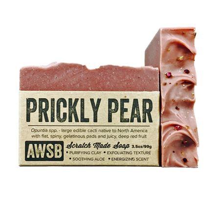 A wild soap bar organic handmade soap - prickly pear