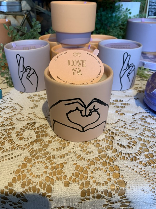 Paddywax impressions tobacco & vanilla candle