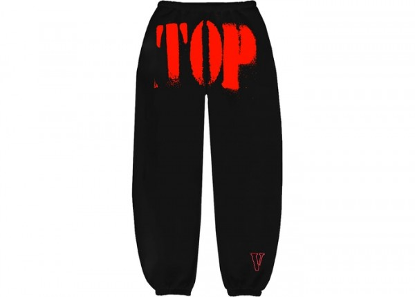YOUNGBOY NBA X VLONE TOP SWEATPANTS SWEATPANTS RED