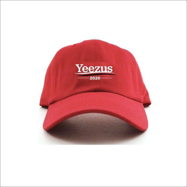 PDLA YEEZUS 2020 DAD CAP RED