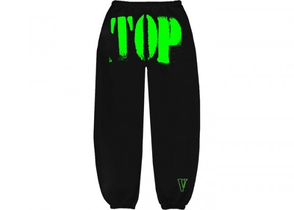 YOUNGBOY NBA X VLONE TOP SWEATPANTS SWEATPANTS GREEN