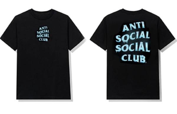 ANTI SOCIAL SOCIAL CLUB COLD SWEATS TEE BLACK