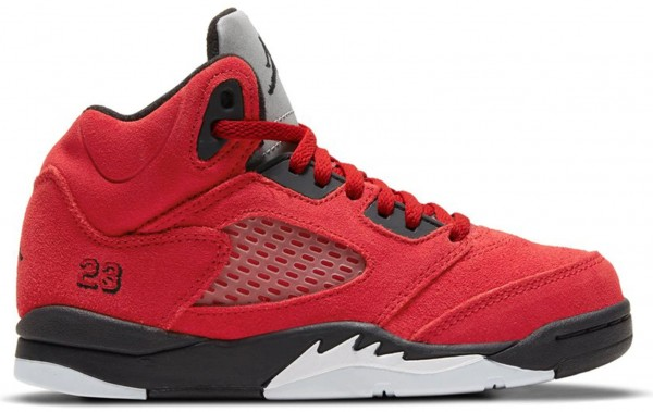 JORDAN 5 RETRO RAGING BULL RED 2021 (PS)