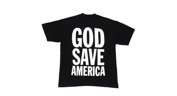 KANYE 2020 GOD SAVE AMERICA TEE