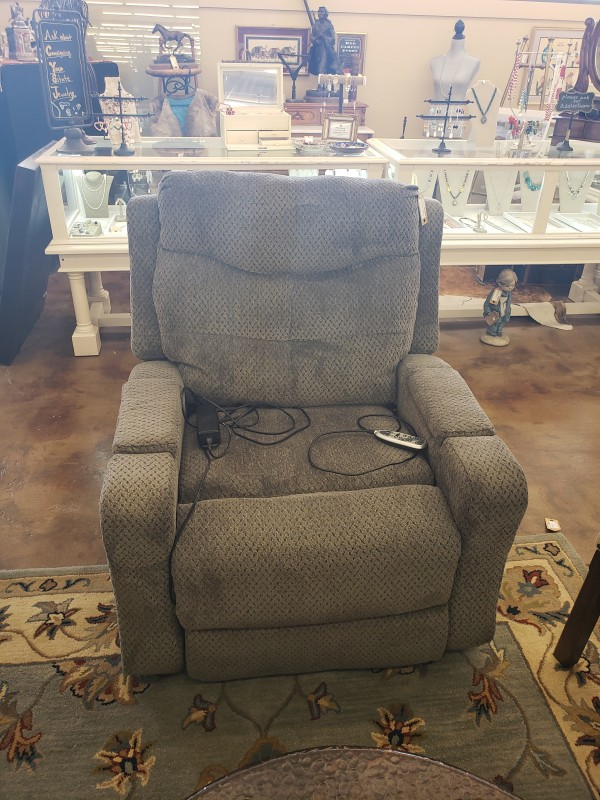 Dark Teal Tranquil Ease Electric / Power Lift Recliner