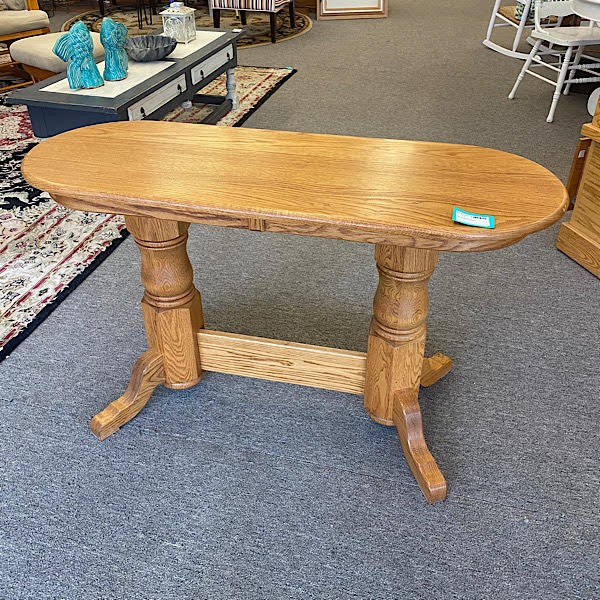 Console Table - Amish Made, Oak