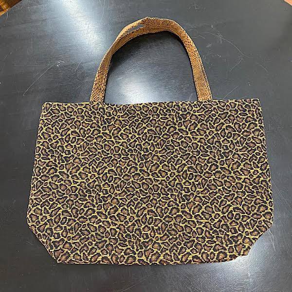 Reversible Bag - Cheetah Print