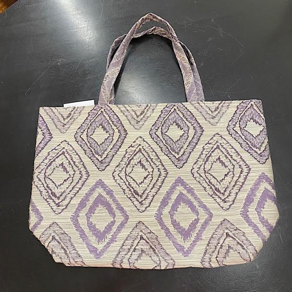 Reversible Bag - Grey, Purple & Plum