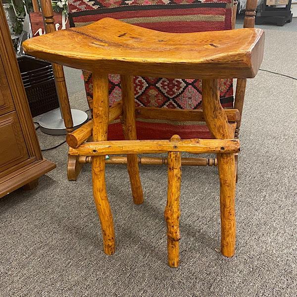 Red Oak Stool w/ Rock Maple Legs