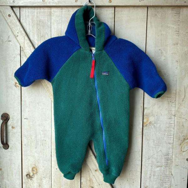 L.L.Bean Fleece Snow Suit - Infant 12 months