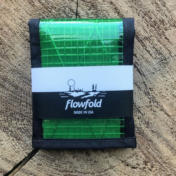 Flowfold Recycled Sailcloth Vanguard Bifold Wallet