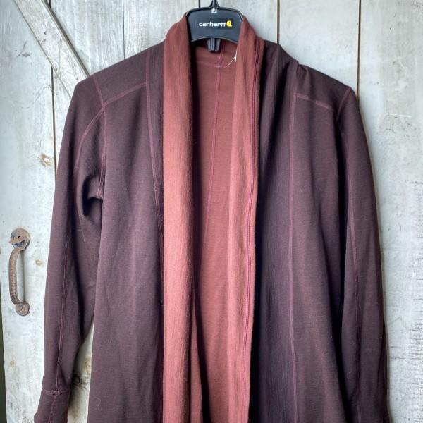Ibex Dyad Reversible Merino Wool Sweater