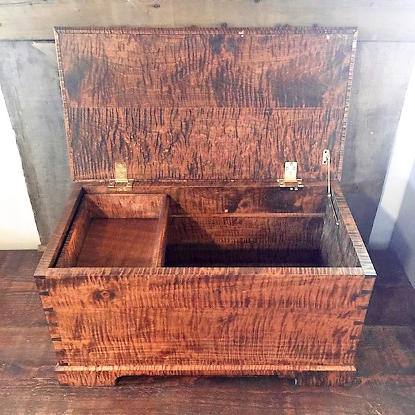 Wooden Chests, Crates & Boxes