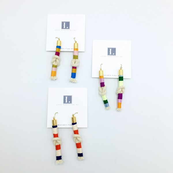 Long Knotted Earrings (LD-024)