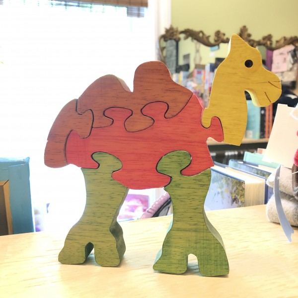 Wooden Camel Puzzle