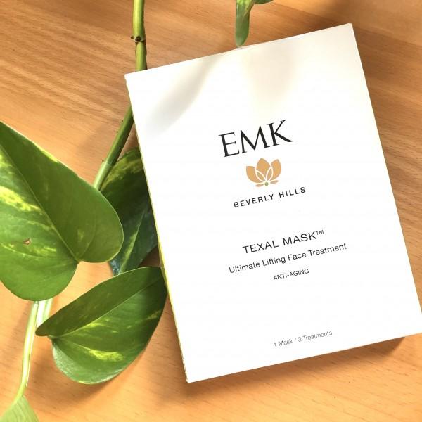 EMK BEVERLY HILLS - TEXAL FACE MASK - NEW