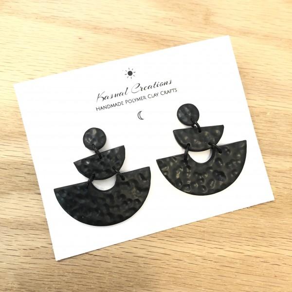 Artisan Polymer Clay - Goddess Earrings