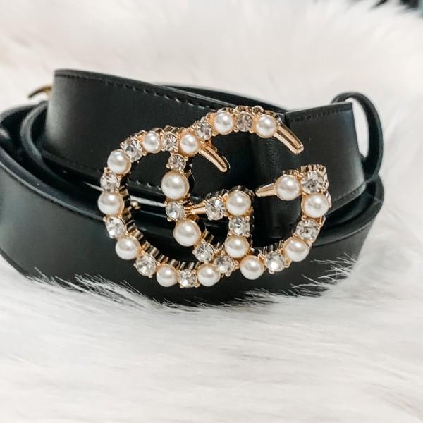 Rhinestone Fashion Belt - Large/PLUS