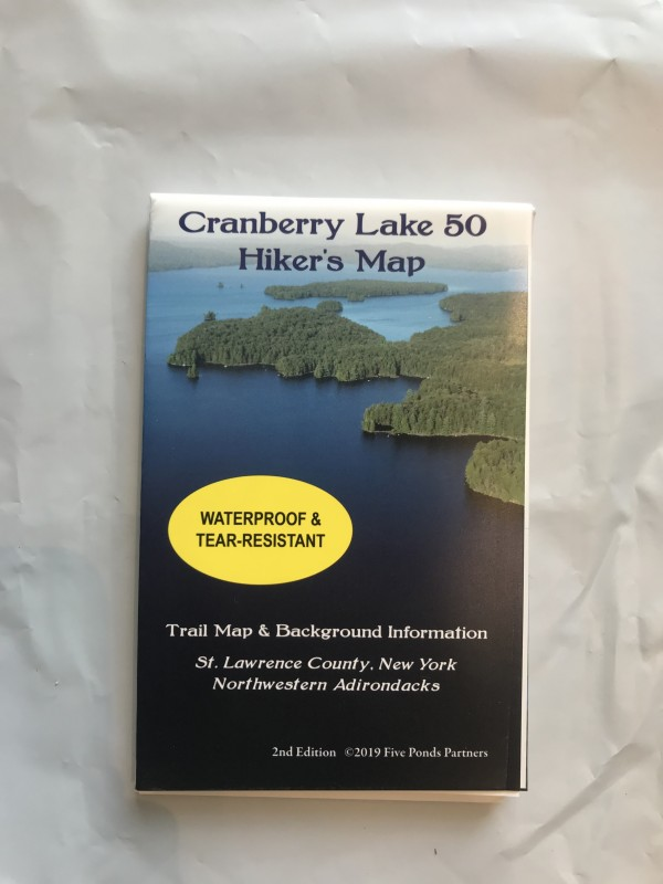 Cranberry Lake 50 Hiker's Map