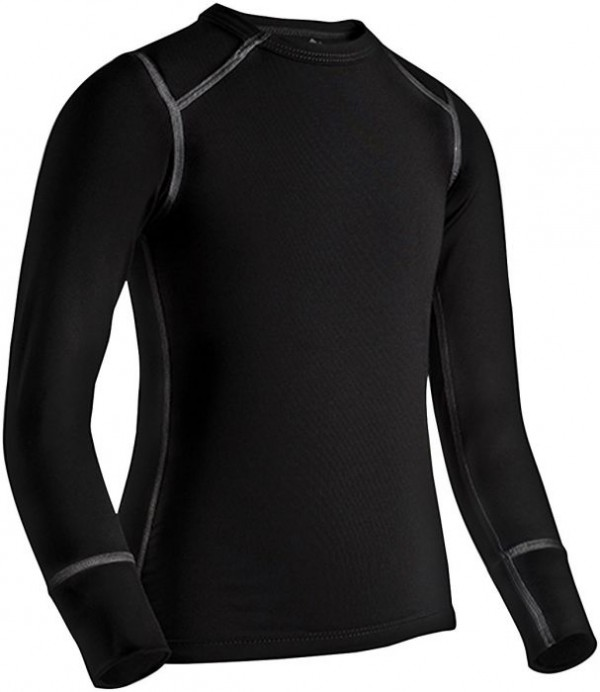 Coldpruf Quest Kids Base Layer Crew Top