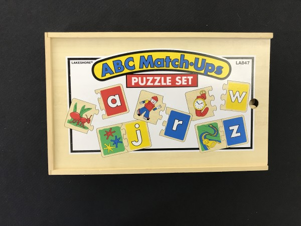 ABC Match Up Puzzle Set