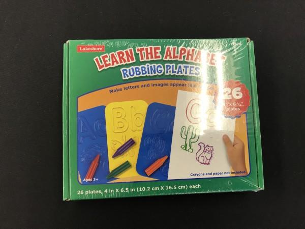 Learn The Alphhabet