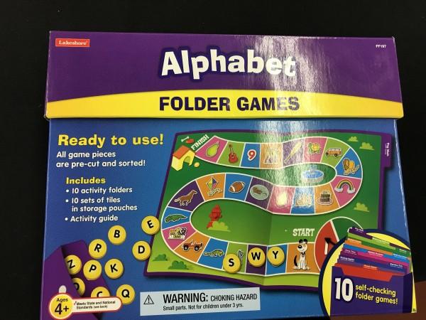 Alphabet Folder Games