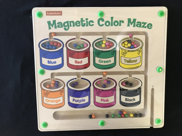 Magnetic Color Maze