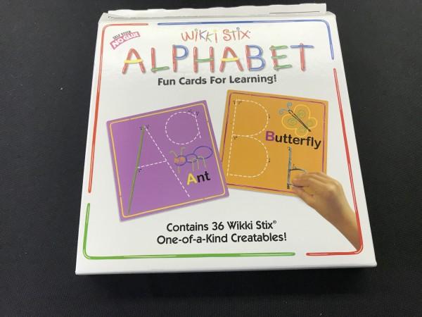 Wikki Stix Alphabet