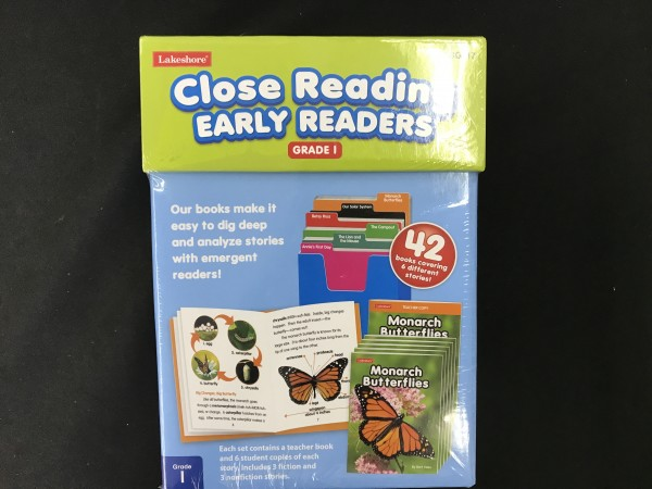 Close Reading Early Readers