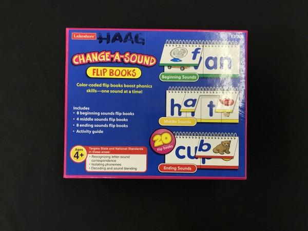 Change-A-Sound Flip Books