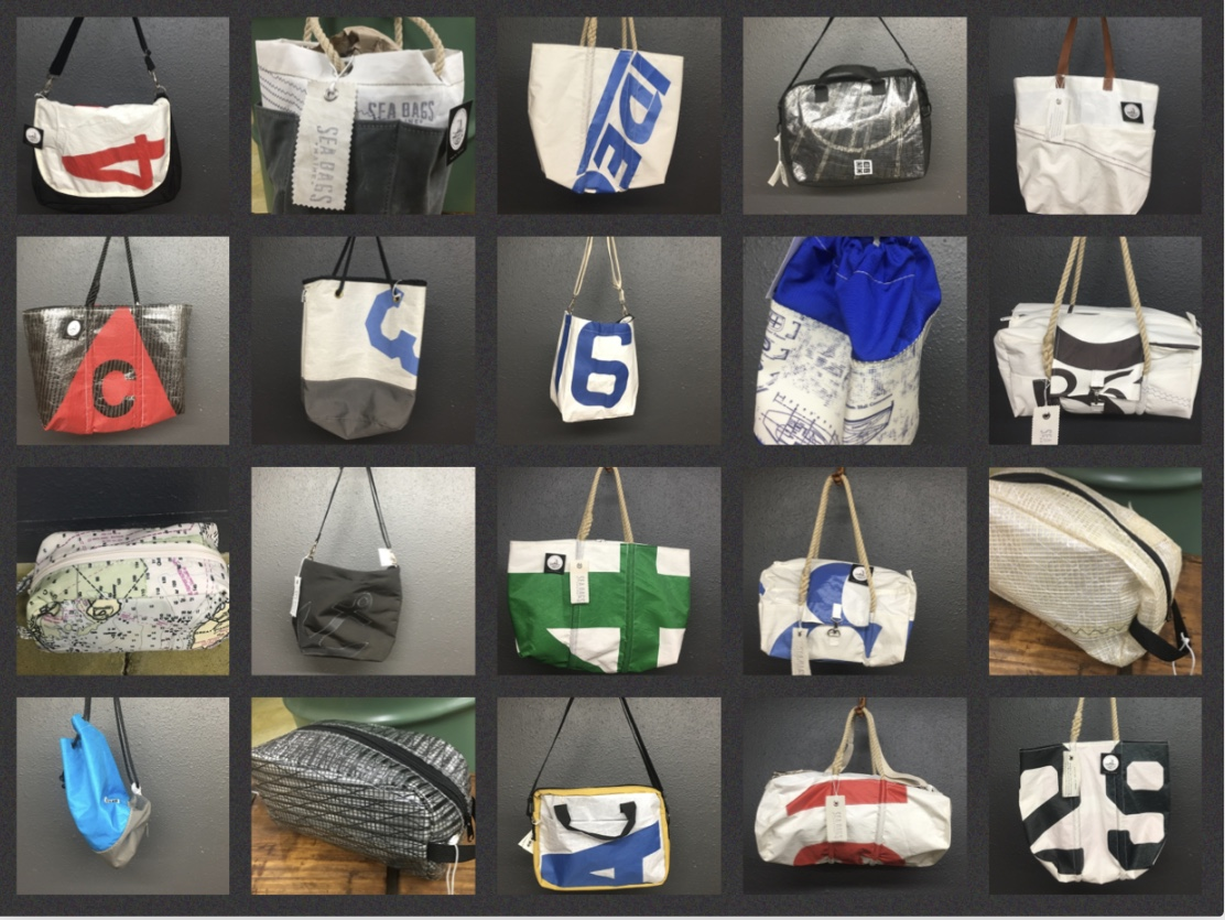 Recycled Sail Bags
