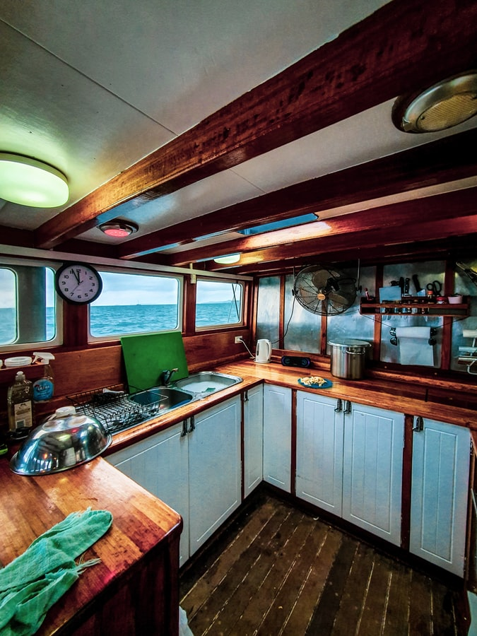 Cabin & Galley