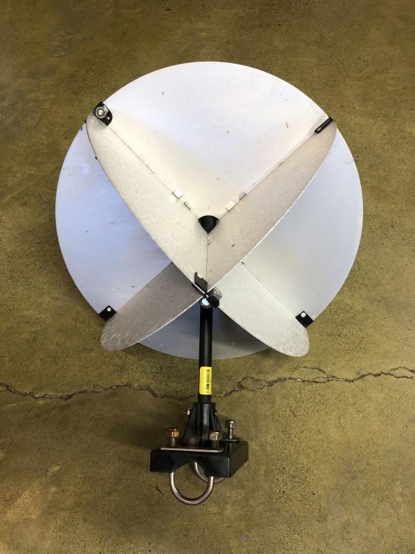 Rail Mount Radar Reflector