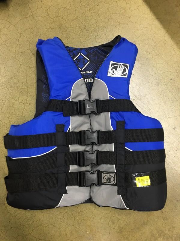 Body Glove Adult Lg/XL Blue&Black PFD