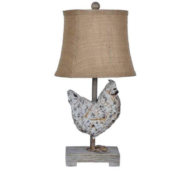 Chicken table lamp