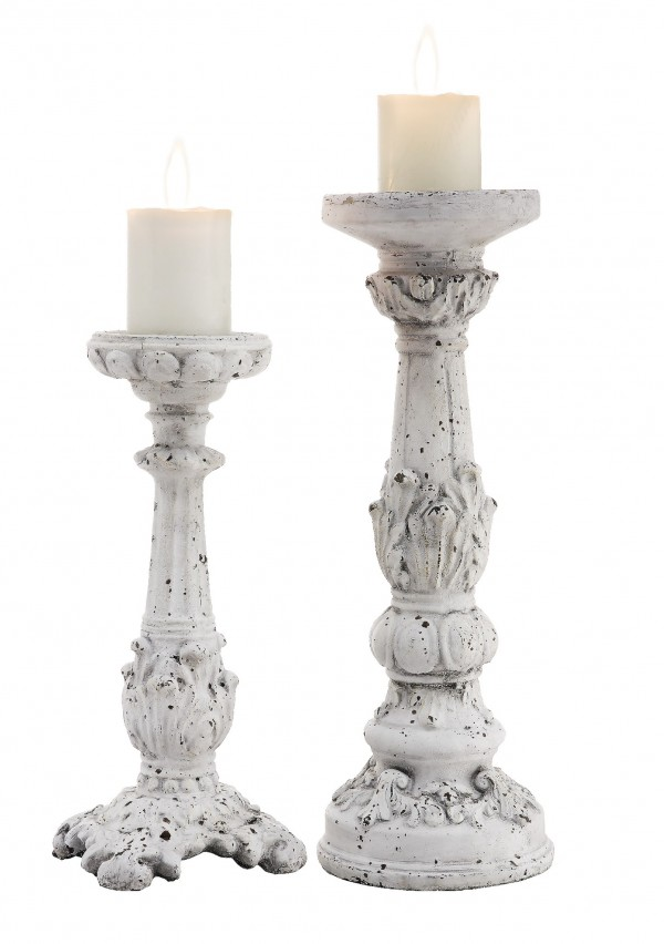 SET OF 2 - Victorian Candle Holder
