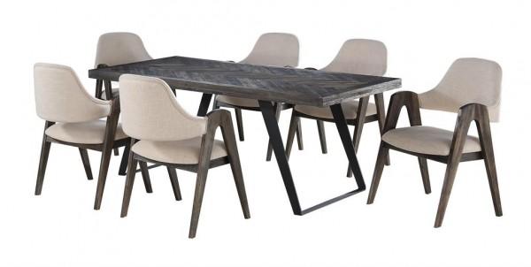 Aspen Court Dinning Set w/ 6 chairs