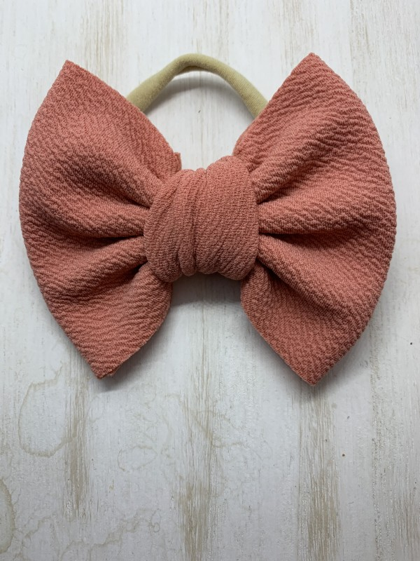 Small Butterfly Blush Bow