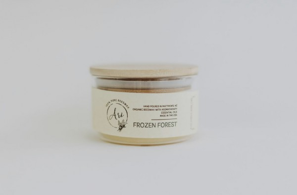 Frozen Forest - Beeswax Candle