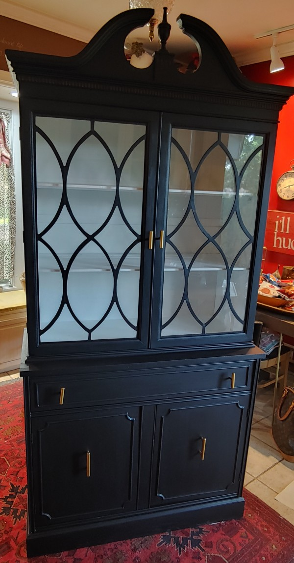 China Cabinet - 3 ft across 16 in depth 76 inches tall
