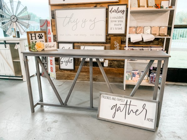 Handmade Console Table