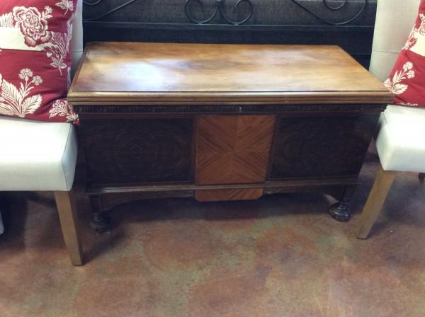 Vintage Cedar Lined Chest
