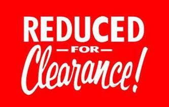 ~ Clearance!