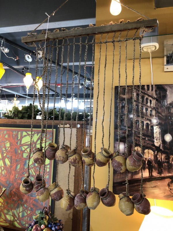 Clay Pot Rope Wind Chime