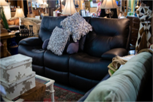 Leather Sofa | Simply Home Consignments