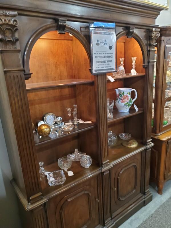 Henredon Double Bookshelf