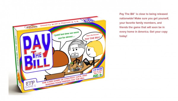 Pay The Bill Game